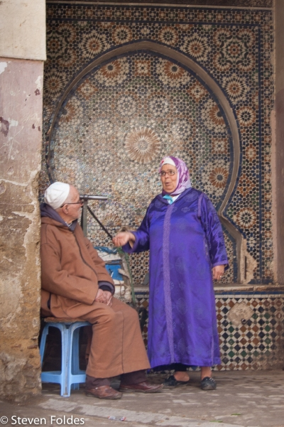 Fez Older Couple-2648
